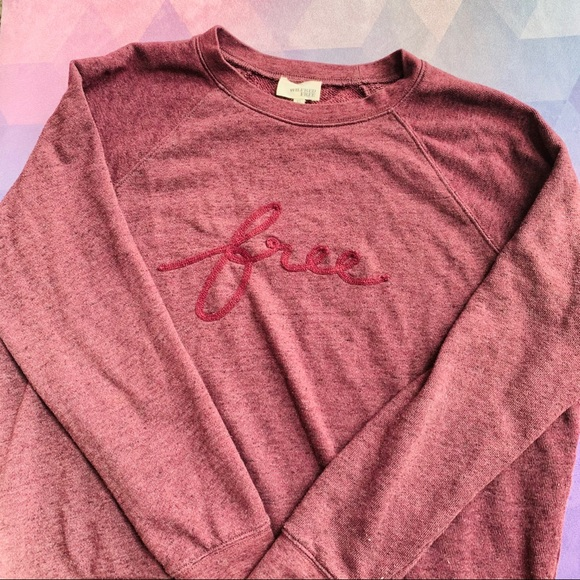 💘 ARITZIA 'FREE' wilfred free crew sweater